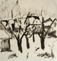 Kirchenfeld im Winter